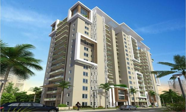 Ready to movein 3BHKSQ Flat at Emaar Palm Gardens Gurgaon
