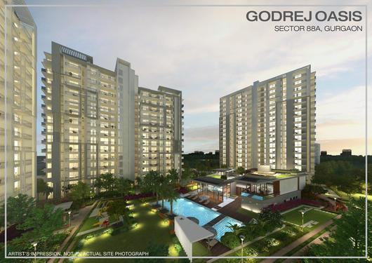 Godrej Oasis Ready to move 23BHK in Sector 88A Gurgaon