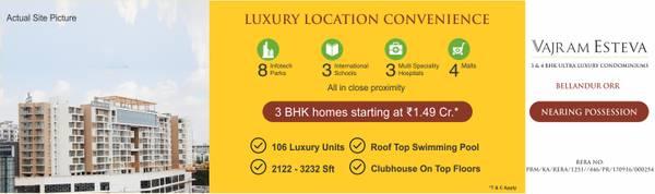 Luxury Apartments in Bellandur   Property For Sale Sarjapur