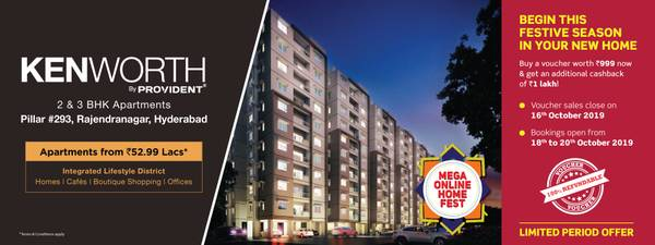 2 BHK & 3 BHK Flats in Hyderabad | Provident Kenworth