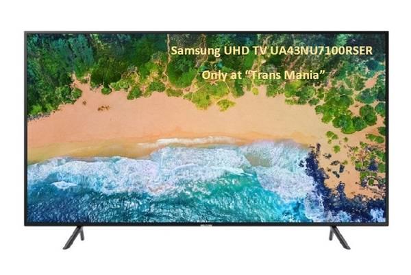 "43"" Samsung UHD TV"
