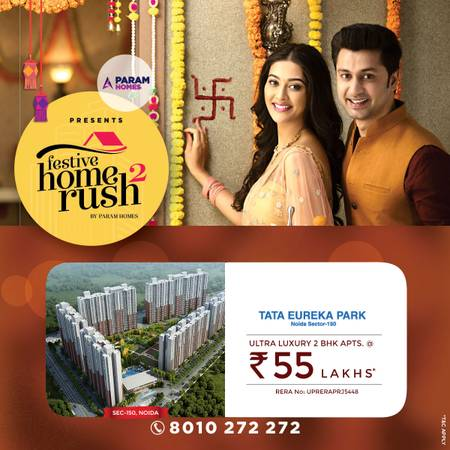 Buy 2 and 3 BHK Homes in Noida Tata Eureka park