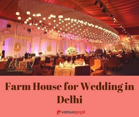 Farm House for Wedding in Delhi