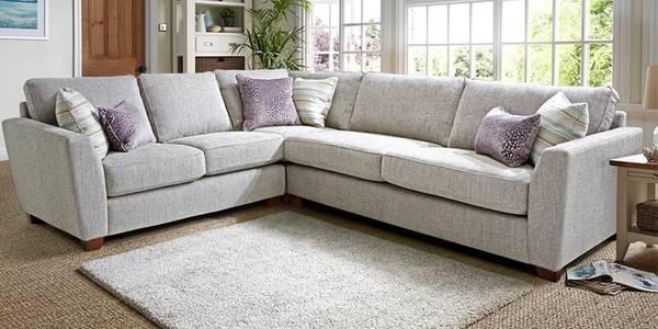 Find Stylish & Simple l shape sofa design @wooden Street