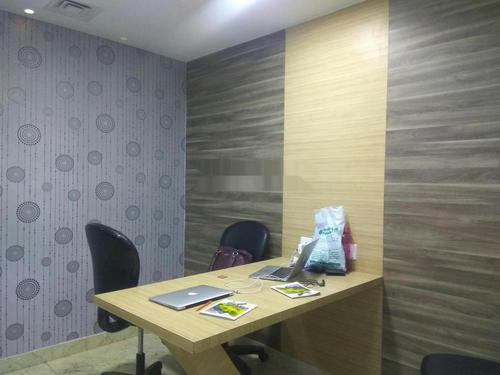 Fully furnished commercial office space for rent at New Town