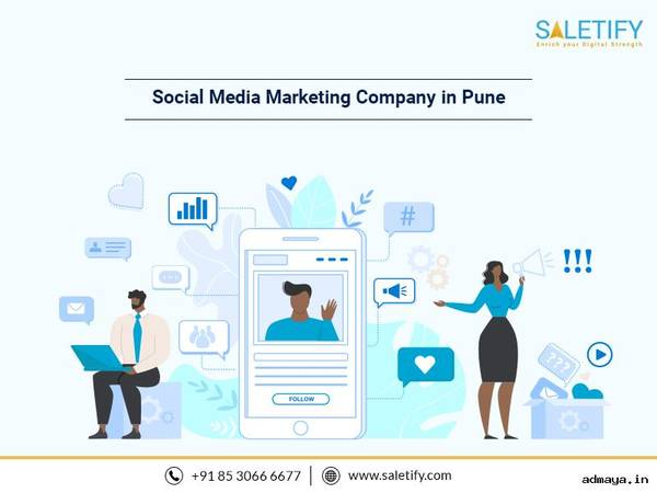 Social Media Marketing Company in Pune - SALETIFY