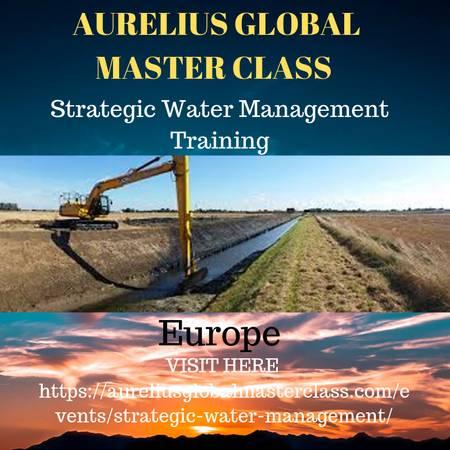 Strategic Water Management Training in Amsterdam