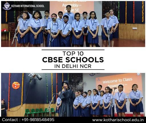 Top 10 CBSE Schools in Delhi NCR