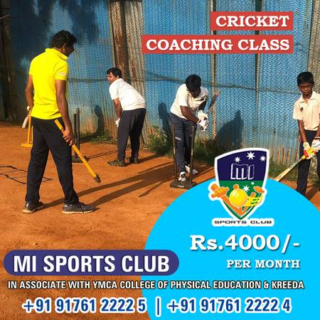 Best Cricket Coaching Centre in Chennai