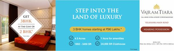 Flats For Sale in Yelahanka | Property For Sale North