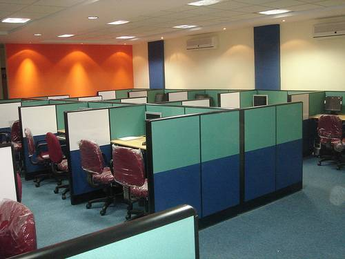 Shared office space for rent at just Rs /seat including