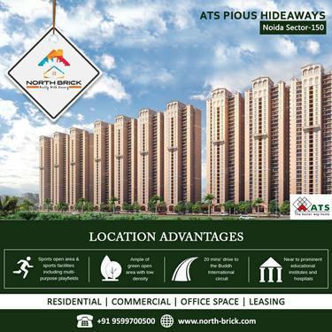 Best Residential ATS Pious Hideaways in Sec 150 Noida