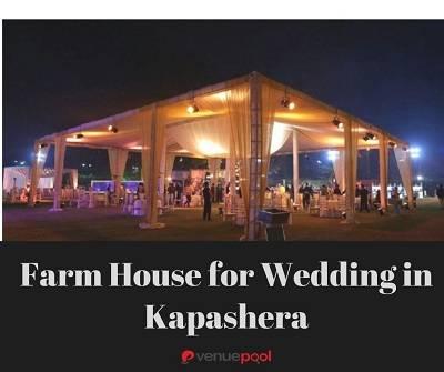 Farm House for Wedding in Kapashera
