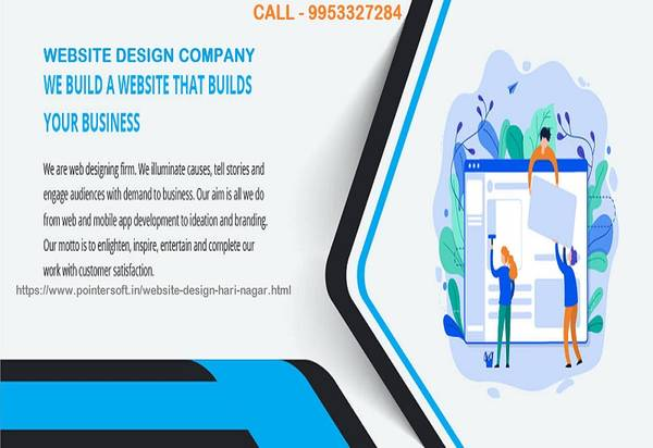 Website Design and development company Hari Nagar