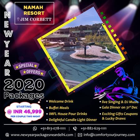 New Year Packages in Namah Resort Jim Corbett | Namah Resort