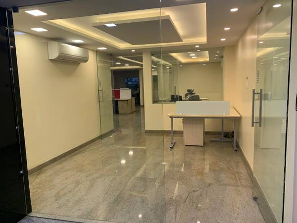 sq.ft, Fully furnished office space for rent at