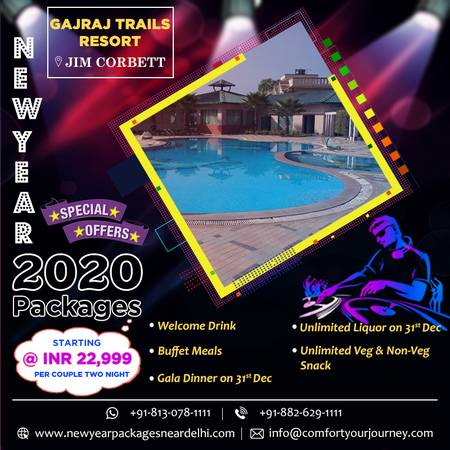 New Year Packages near Delhi & New Year  celebration