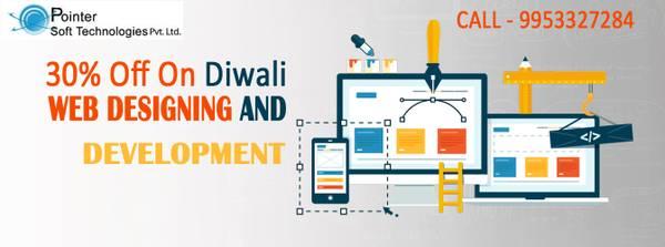 Diwali offer for website design in Delhi