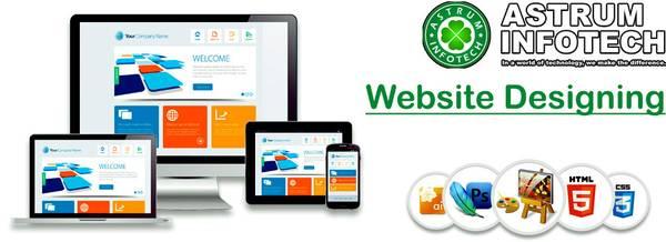 Best Website Designing Services in Delhi NCR Offer by Astrum