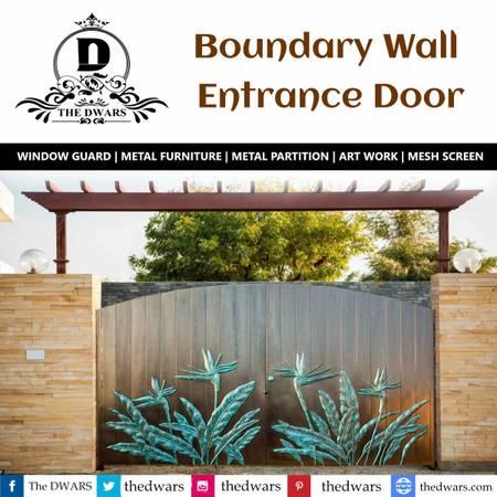 Boundary Wall Entrance Door
