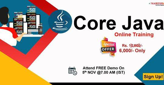 Core Java Online Training In Chennai