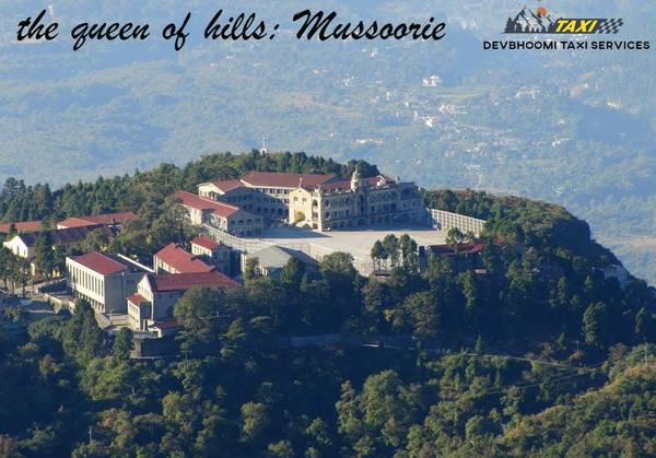 Hire a Best Taxi Service from Dehradun to Mussoorie