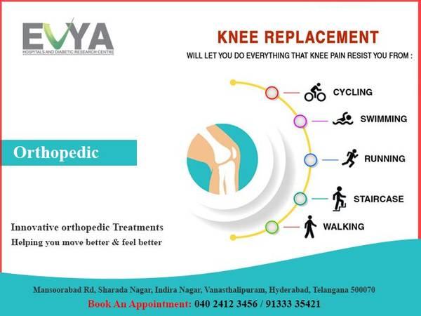 Orthopedic   hospital in vanasthalipuram - Evya Hospitals