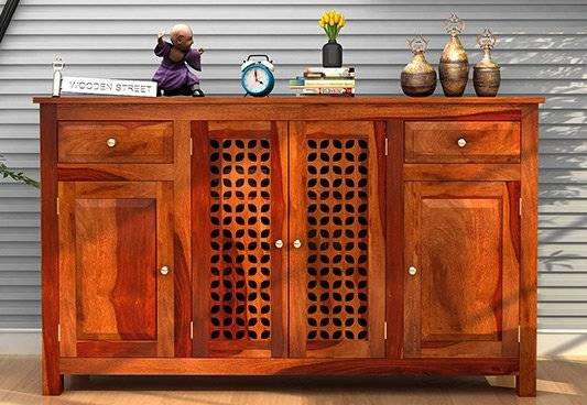 Wooden Cabinets and Sideboards Online in India @ Wooden