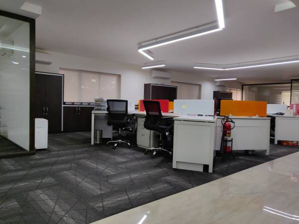 Furnished office space at Residence road available any where