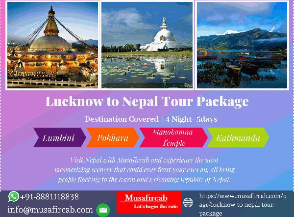 Nepal Tour Package from Lucknow
