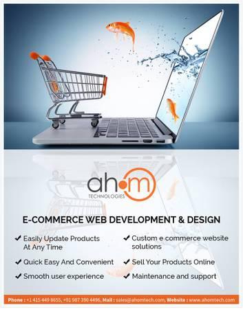 eCommerce website development & eCommerce website design