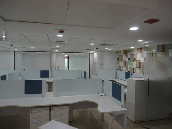 office space in infantry road of  sqft with work station