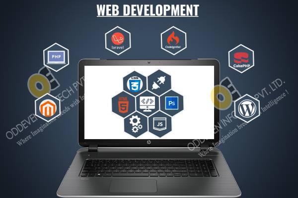Best Web Development Company in Ahmedabad | Oddeven Infotech