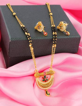 Buy Mini Mangalsutra Designs at affordable price by Anuradha