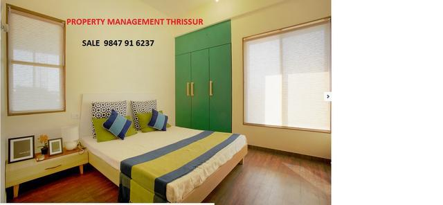1 and 2 bhk furnished flat for Rent Amala Nager Thrissur