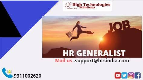 The best hr generalist training in delhi is provided by HTS
