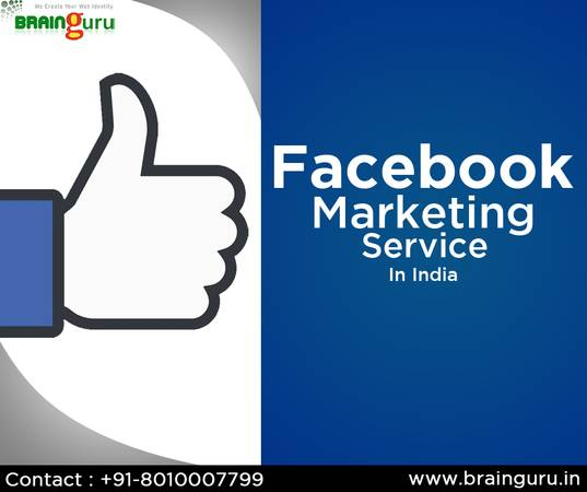 Facebook Marketing Services in India