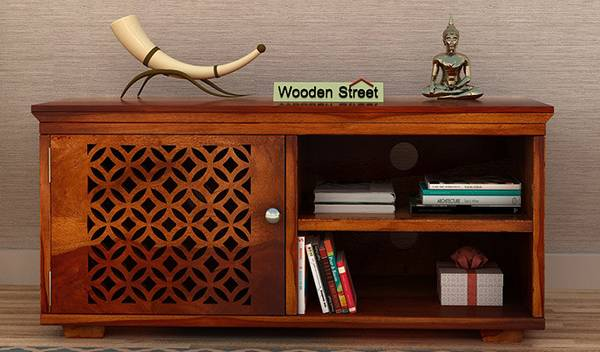Amazing Solid Wood Display unit designs online @Wooden