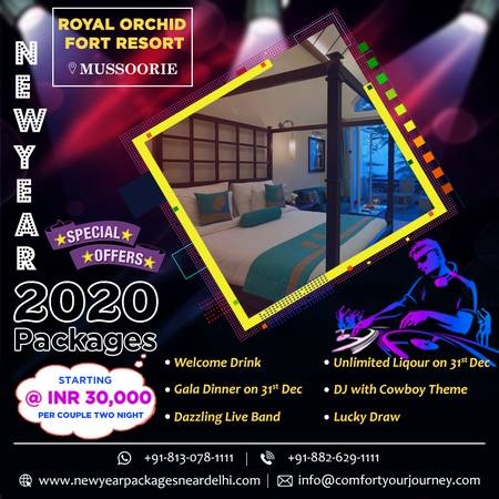 Discount on New Year Packages  | New Year Party in