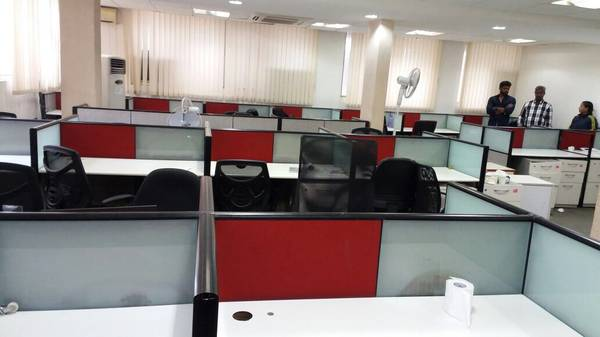 Good furnished office space for rent of sqft at indira