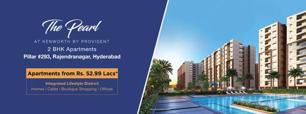 Provident Kenworth | 2 BHK flats in Rajendra Nagar Hyderabad