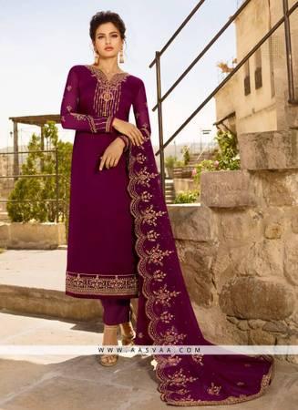 Buy Chudidar Salwar Suit - Aasvaa