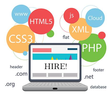 Hire Full Time Professional Web Designer India