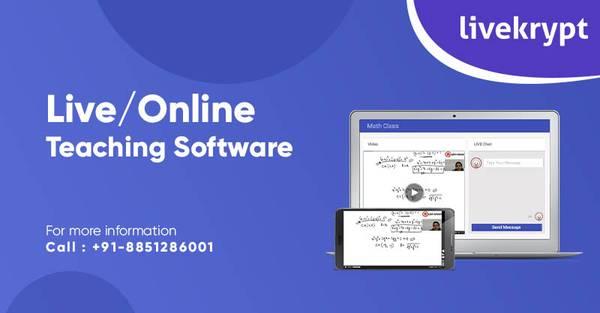Live/Online Teaching Software – Livekrypt