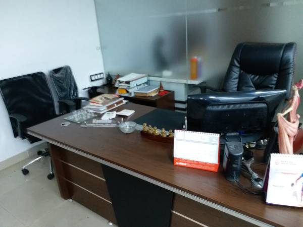 Fully furnished office space for rent in MG Road of