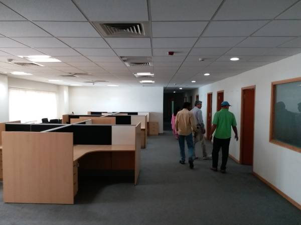 Fully furnished porsh office space for rent in MG Road