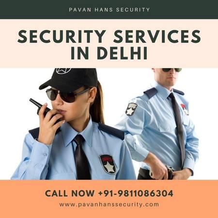 Pavan Hans Security - Top Security Services in Delhi, India