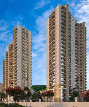 Emaar Palm Heights 3BHKLounge Apartments bang on NH8
