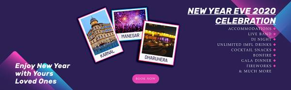 Discount on New Year Packages  | New Year Celebrations