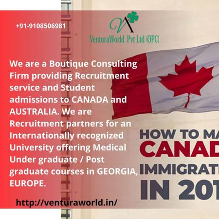 Abroad Jobs in Canada for Indian Students